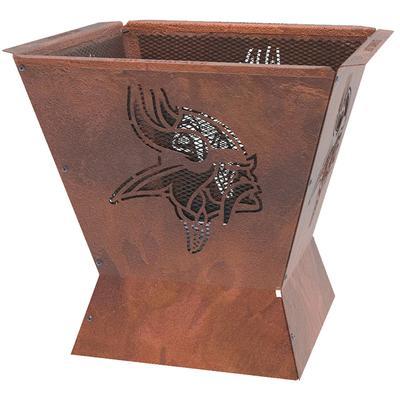 Minnesota Vikings 29.5'' x 26'' Badlands Fire Pit