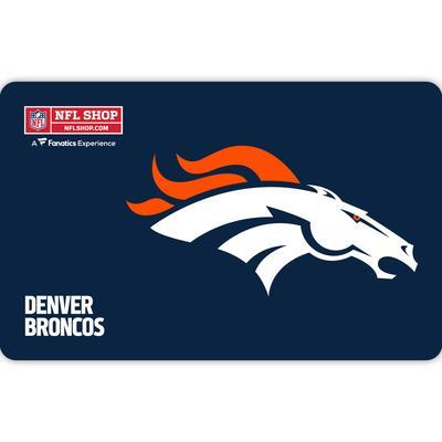 Denver Broncos NFL Shop eGift Card ($10 - $500)