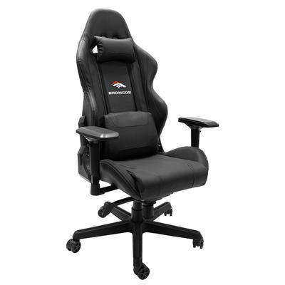 Denver Broncos Wordmark Logo Xpression Gaming Chair