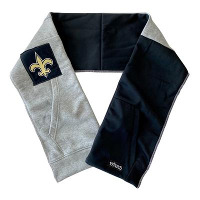New Orleans Saints Refried Apparel Upcycled Scarf