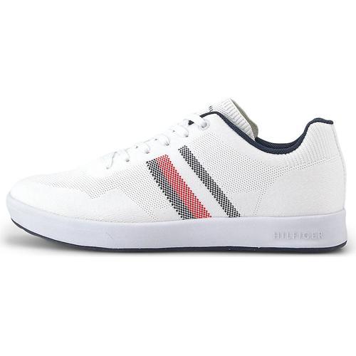 Tommy Hilfiger, Sneaker Sustainable in weiß, Sneaker für Herren Gr. 45