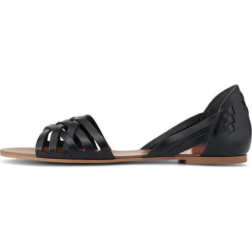 COX, Sommer-Sandale in schwarz, Sandalen für Damen Gr. 39