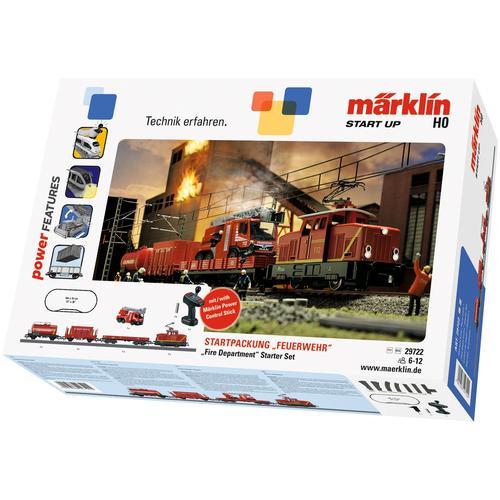 Märklin Modelleisenbahn-Set Start up - Feuerwehr 29722, Für Einsteiger, Made in Europe rot Kinder Modelleisenbahn-Sets Modelleisenbahnen Autos, Eisenbahn Modellbau