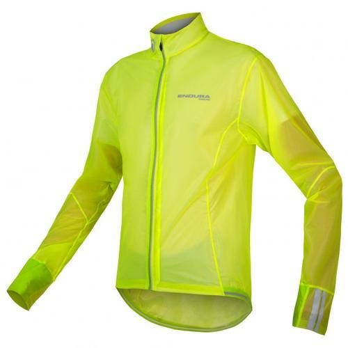Endura - FS260-Pro Adrenaline Race Cape II - Fahrradjacke Gr L grün/gelb