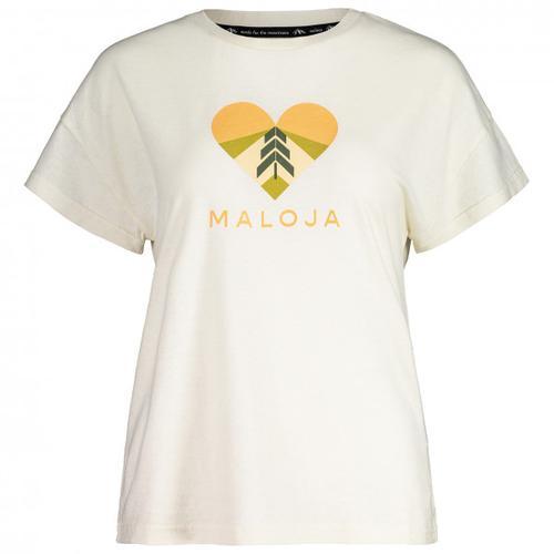 Maloja - Women's KlappertopfM. - T-Shirt Gr S weiß
