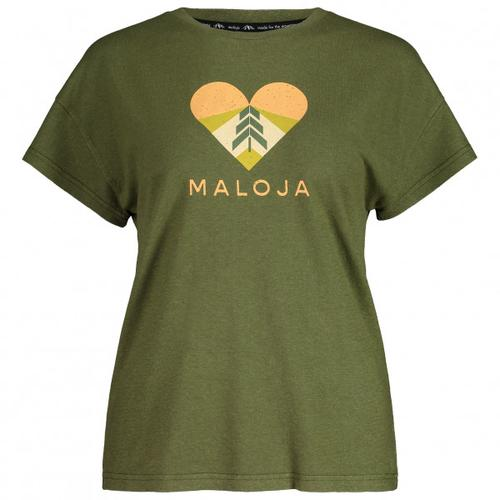 Maloja - Women's KlappertopfM. - T-Shirt Gr XL oliv