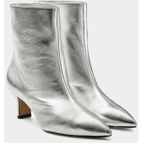 Paul Andrew Ankle Boots Mangold mit Kitten Heel