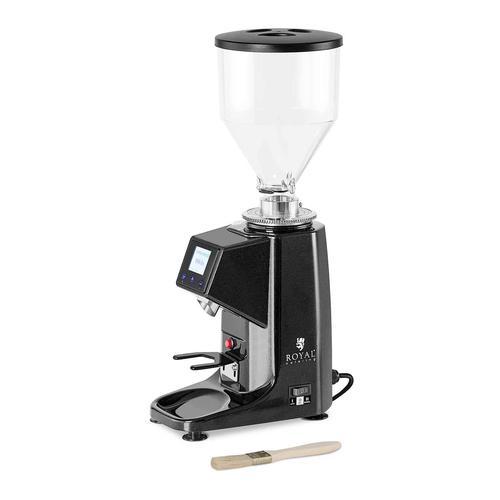 Royal Catering Kaffeemühle - 200 W- Aluminium - schwarz RC-CGE22