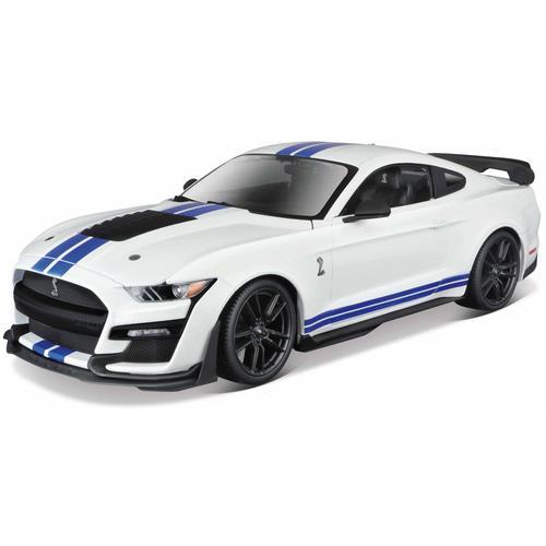 Maisto Sammlerauto Ford Shelby GT500 ´20, 1:18 weiß Kinder Modellautos Modellfahrzeuge Autos, Eisenbahn Modellbau