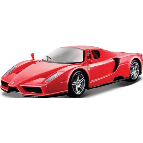 Bburago Sammlerauto Ferrari ENZO 2002-2004, 1:24 rot Kinder Modellautos Modellfahrzeuge Autos, Eisenbahn Modellbau
