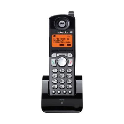 Motorola Black 2-Line Cordless Handset Accessory