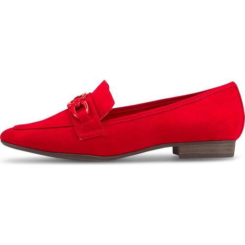 MARCO TOZZI, Slipper in rot, Slipper für Damen Gr. 36
