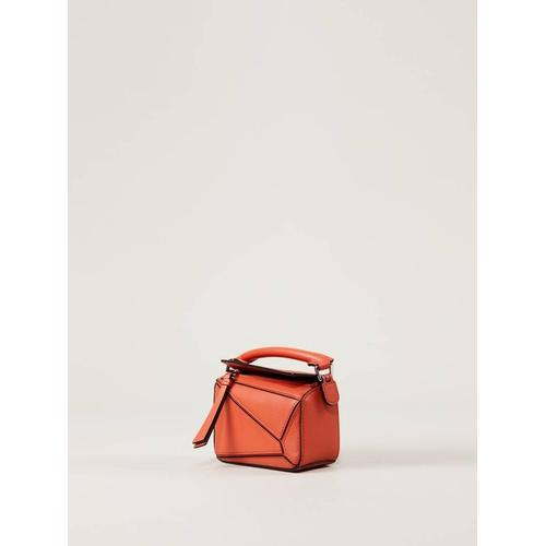 Loewe Handtasche 'Puzzle Nano Bag' Orange