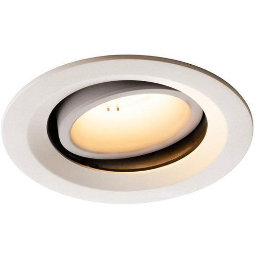 LED Einbaustrahler Numinos in Weiß 17,55W 1600lm 3000K 55° kardanisch