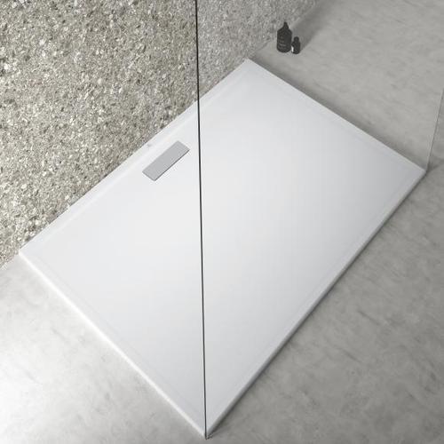 Ideal Standard Ultra Flat New Rechteck-Duschwanne L: 140 B: 100 H: 2,5 cm seidenweiß T4490V1
