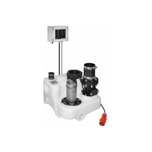 Grundfos Multilift MSS Abwasserhebeanlage mit Rückschlagklappe 11.3.2 400V 97901027 Hebeanlage