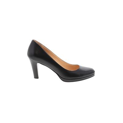 Cole Haan Nike Heels: Black Solid Shoes - Size 9