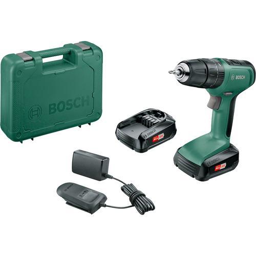 BOSCH Akku-Bohrschrauber UniversalImpact 18, (Set), inkl. 2 Akkus und Ladegerät grün Akkuschrauber Werkzeug Maschinen