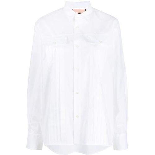 Plan C Plissiertes Hemd