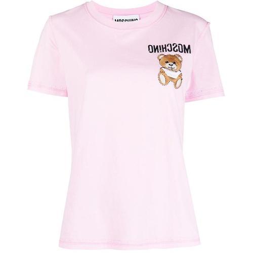 Moschino T-Shirt mit Teddy