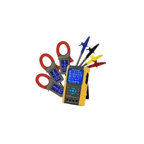 Pce Instruments - Leistungsmesser PCE-PA 8000 für 1- & 3-Phasen, inkl. SD Karte