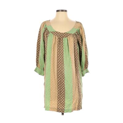 Betsey Johnson Casual Dress - Shift: Green Dresses - Used - Size 4