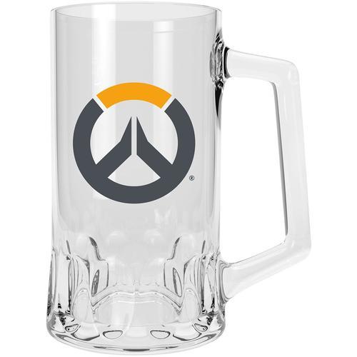 Overwatch Overwatch Logo Bierkrug - klar - Offizieller & Lizenzierter Fanartikel
