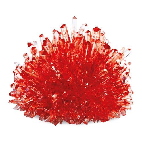 small foot Kristalle züchten Rot
