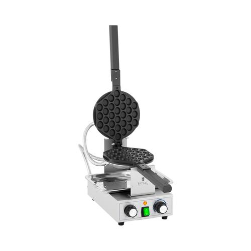 Royal Catering Bubble Waffeleisen - 1.400 W - 50 - 250 °C - Timer: 0 - 5 min RCPMW-1400K