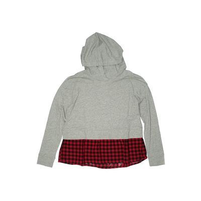 Gap Kids - Gap Kids Pullover Hoodie: Gray Tops - Size 12