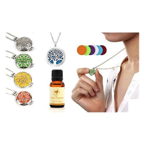 Aroma-Diffusor-Halskette: Halskette/ Welle