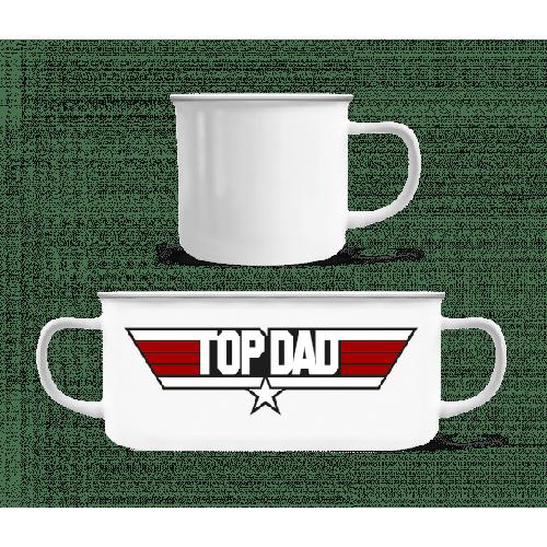 Top Dad - Emaille-Tasse