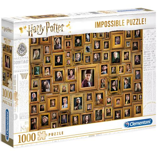 Clementoni Puzzle Impossible Collection - Harry Potter, Made in Europe bunt Kinder