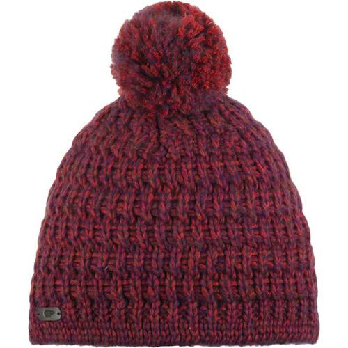 EISBÄR Damen Mütze Trace Pompon MÜ, Größe - in rotblau