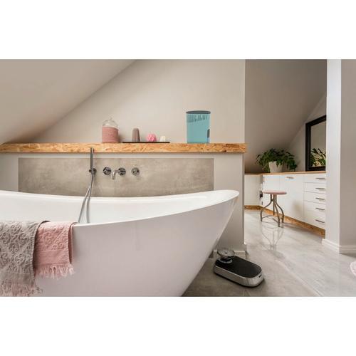 Wenko Raumentfeuchter Drop Rosa 1000 g, 2er Set - Gehäuse: Rosa, Calciumchlorid: Weiß, Korb: