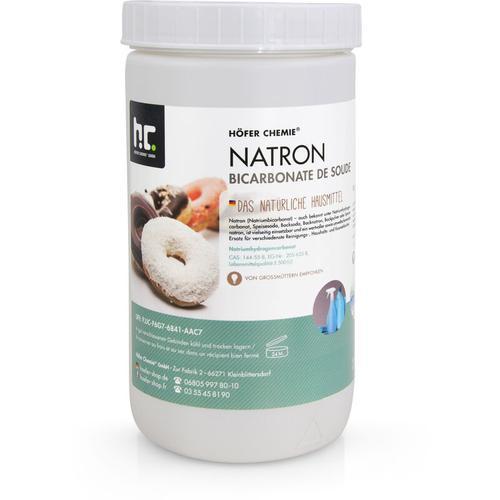 4 x 1 kg Natron Natriumhydrogencarbonat in Lebensmittelqualität