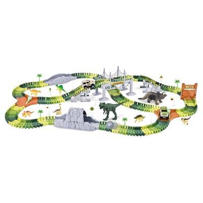 Grand coffret circuit flexible à construire avec dinosaures : Coffret 2