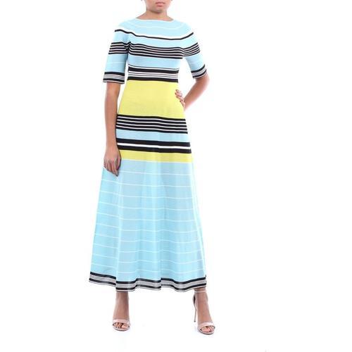 Lanvin Langes zweifarbiges kleid