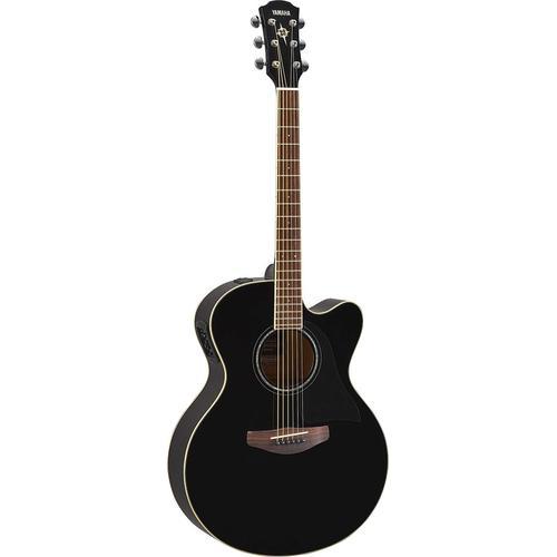 Yamaha Akustikgitarre E-Akustikgitarre CPX600BL, Black schwarz Audio SOFORT LIEFERBARE Technik