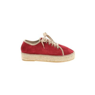 Toni Pons Sneakers: Red Solid Shoes - Size 41