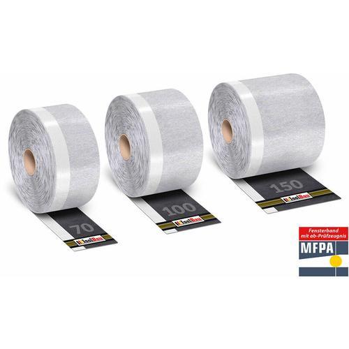 Isolbau - Fensterdichtband Flexband Fensterband Dichtband für Fenster ,Außen PROFI Ware Breite: