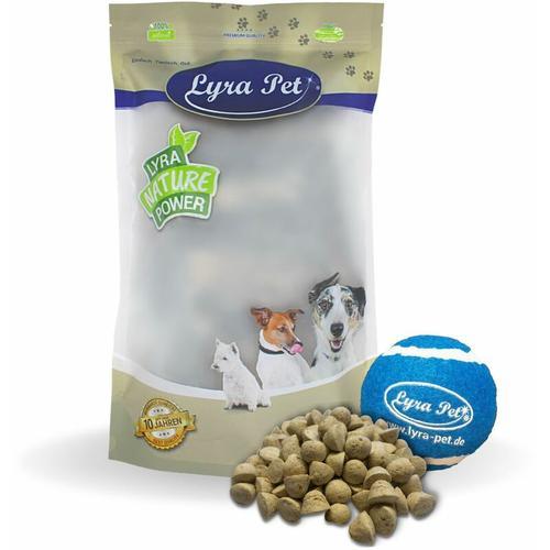 5 kg ® Hundekekse mit Strauß + Tennis Ball - Lyra Pet