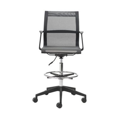 Zuo Black Stacy Drafter Office Chair