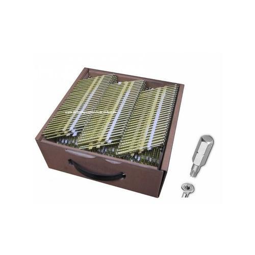 Nagelschrauben 3,2x50mm rostfrei Streifennägel TX15 für 20° Streifennagler'-'EN13250