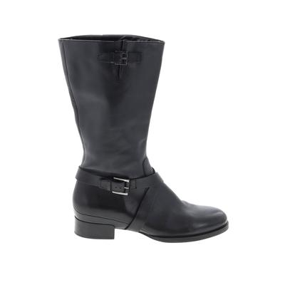Ecco Boots: Black Solid Shoes - Size 40