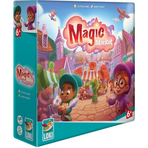 LOKI Spiel Magic Market bunt Kinder Brettspiele Gesellschaftsspiele
