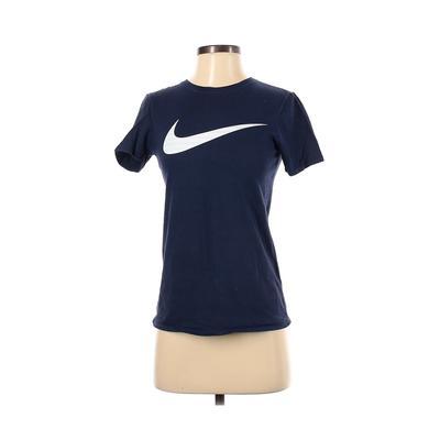 Nike Short Sleeve T-Shirt: Blue ...