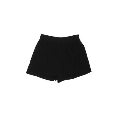 ASOS Shorts: Black Solid Bottoms - Size 4