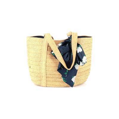 Draper James - Draper James Tote Bag: Tan Color Block Bags