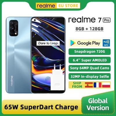 Version globale Realme 7 Pro 8GB...
